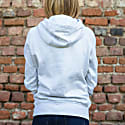 Rainbow Organic Cotton Hoodie In Grey image