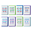 Four Letter Word Card Set x 8 image