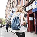 Mavis Drawstring Backpack In Petrol image