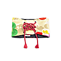 Reversible Waist Belt With Tie - Flower Wall image
