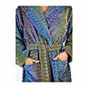 Blue Ocean Magic Hooded Bath Robe image