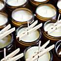 Botanical Scented Soy Candles Set - Various Aromatherapy Blends image