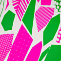 Neon Geo Limited Edition Screen Print image