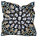 London Large Silk Scarf image