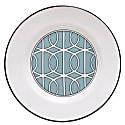 Loop Duck Egg & White Teaplate Inner Design image