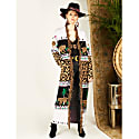 Leopardess Duster Black & White image