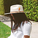 Ave Colorida Neutral Suede Hat image