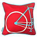 Red Bike Cushion image