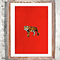 A Tiger Signed Print Large image