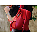 Mod 130 Backpack In Cuoio Red image