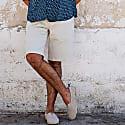 Turtle Bermuda Shorts Beige image