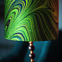 Malachite Marbled Velvet Shade image