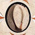 Handwoven Toquilla Straw Cubano Hat - Grey image