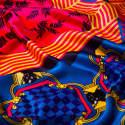 Forme Rose & Bleue Silk image