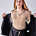 Beige Mesh T-Shirt For Men & Women image