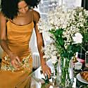 Marisol Midi Slip Dress image