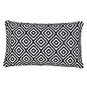 Iris Grey Diamond Cushion image