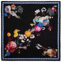 Medium Square Scarf In Bloom Print image