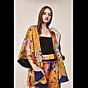 Golden Rosso Reversible Kimono image