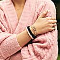 Pack Of 6 Silk Skinny Scrunchies image