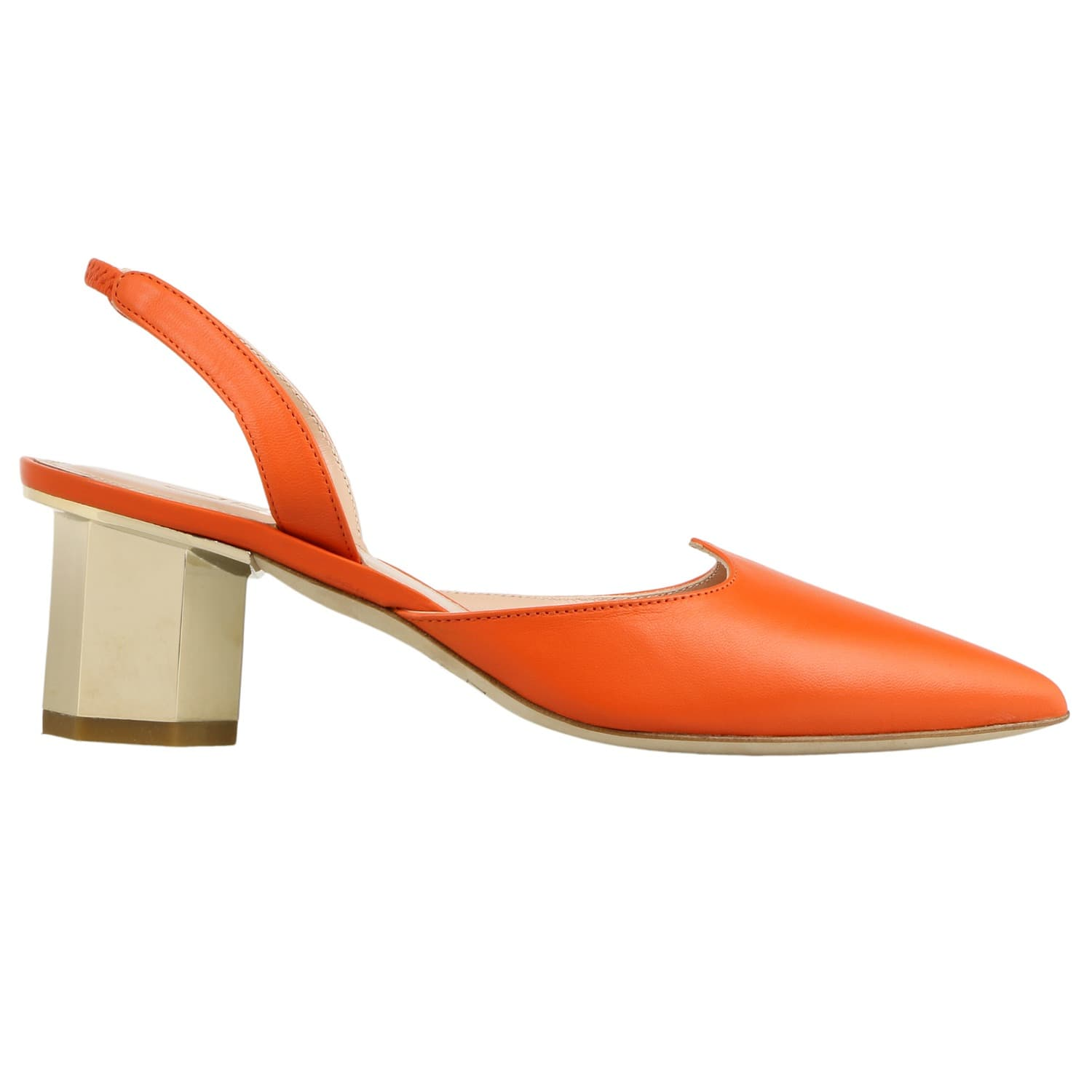 Lamperti Themis Orange Heel New ysHphdX