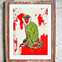 The Staring Monkey Signed Limited Edition Print image