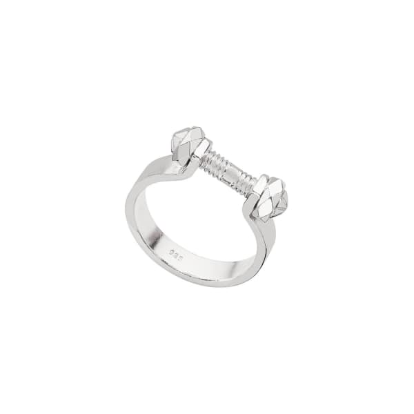 Barre Silver Ring
