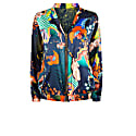 Penny Bomber Reversible In Lucid & Abandoned Village Print image