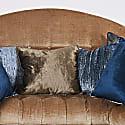 Fawn Brown Velvet Cushion image