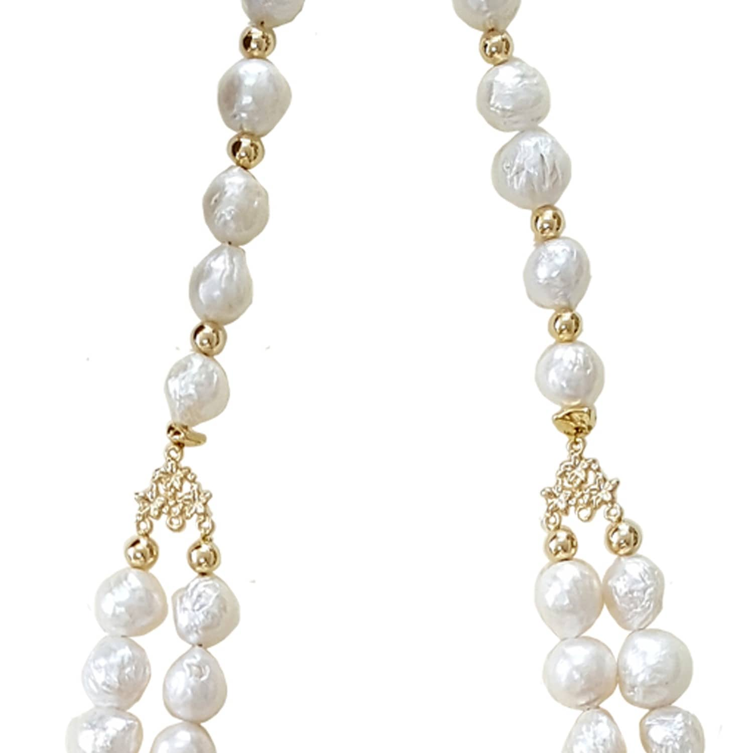and irregularly leverback winterson white pearl gold pearls freshwater leverbacks shaped diamond drop with earrings yellow