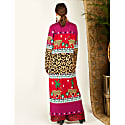 Leopardess Duster Magenta Red image