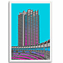 The Barbican Centre A3 Print image
