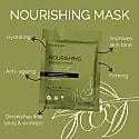 Beautypro Nourishing Collagen Sheet Mask With Olive Extract image