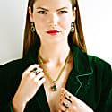 Orisha Peridot & Diamond Ring image