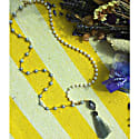 White & Light Grey Freshwater Pearls With Tassel Multi-Way Necklace image