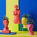 Venus Head Vase Scarlet image