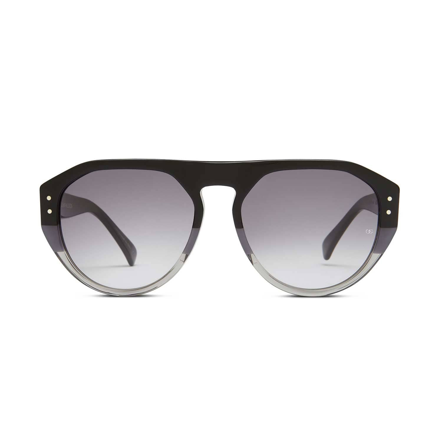 ef7c570768a2 Gopas Three Shades Of Grey | Oliver Goldsmith Sunglasses | Wolf & Badger