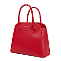 Vegan Leather Anna Tote Bag - Red image