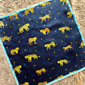 Silk Bandana Of Leopards & Tigers image