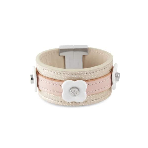 TISSUVILLE Say Bonjour Bracelet White