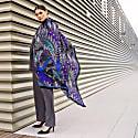 Eagles Blue Grey Silk Scarf image