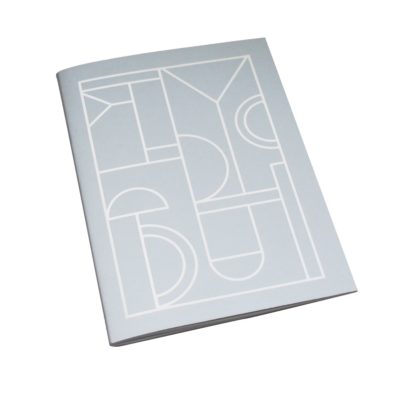 Nylon Sky - Foil Printed Notebook A5 Grey