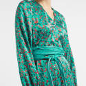 Sabrina Print Silk Maxi Dress image