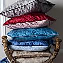 Persian Blue Velvet Cushion image