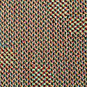 Digital Sunrise Merino Wool & Silk Knitted Throw image