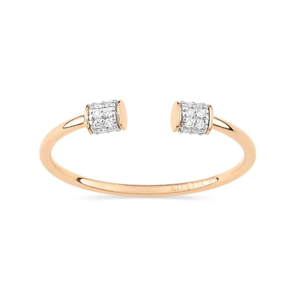 Ginette Ny Single Diamond Choker Ring