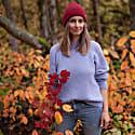 Nove Alpaca and Silk-Blend Sweater - Lavender image