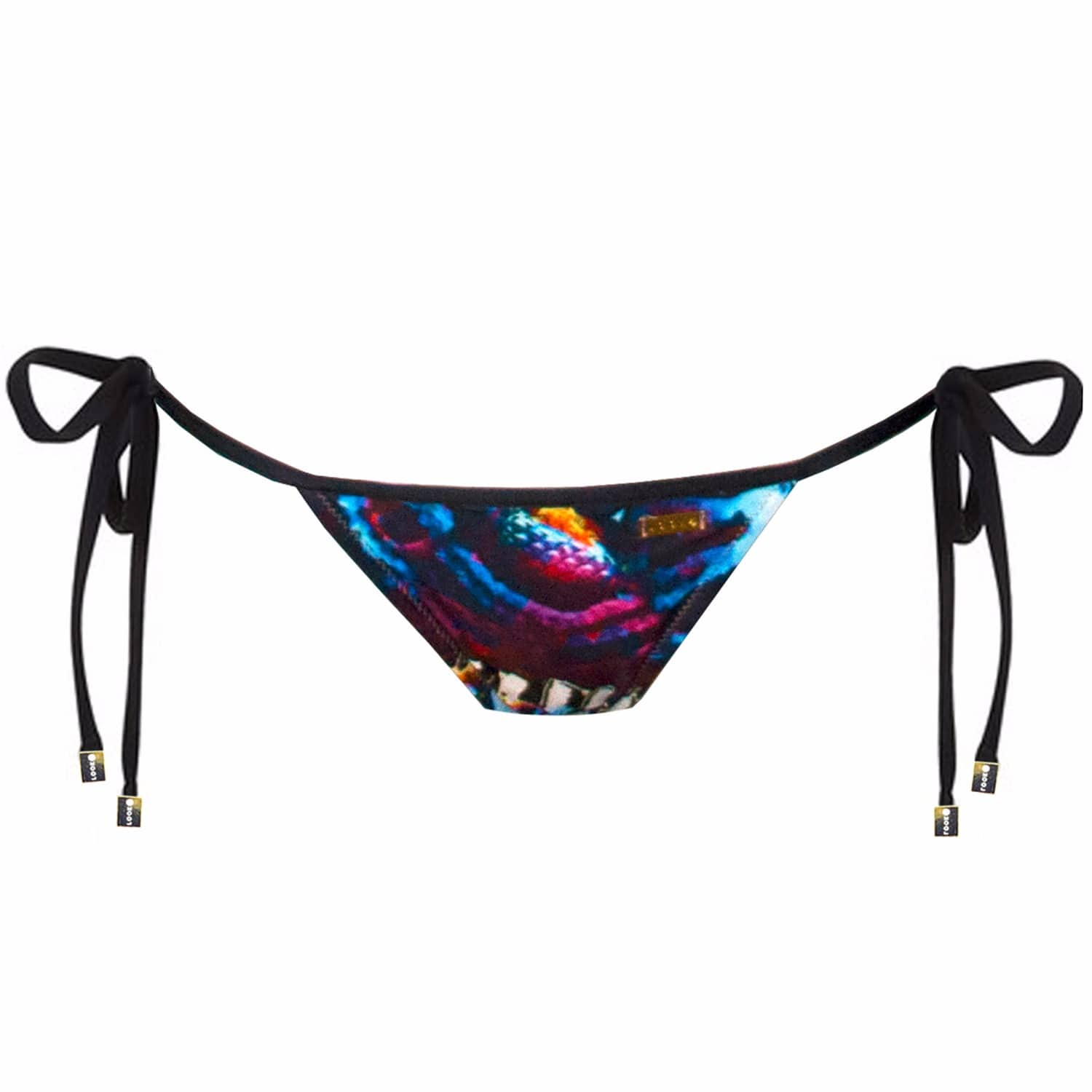 2f453738be2 Garter Snake Bow Bandeau Bikini Bottom | Look Z Swimwear | Wolf & Badger