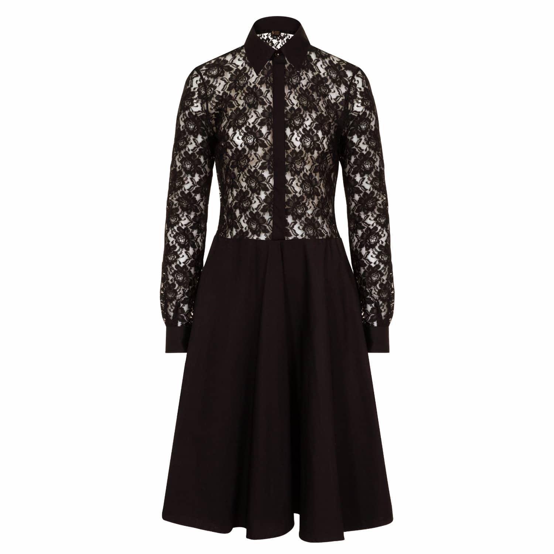 89fe4dc4f6c Black Lace Dresses Midi - Gomes Weine AG