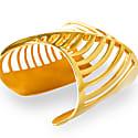 Sharch Bangle Cut Out Gold Vermeil image